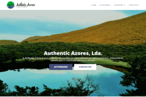 Authentic Azores pagina frontal