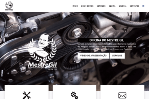 Website Oficina Do Mestre Gil