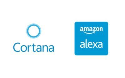 Alexa e Cortana agora podem trabalhar juntas em ambientes com Windows 10