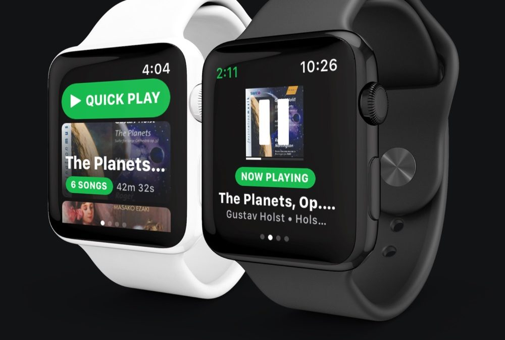 Spotify começa a testar seu app para Apple Watch