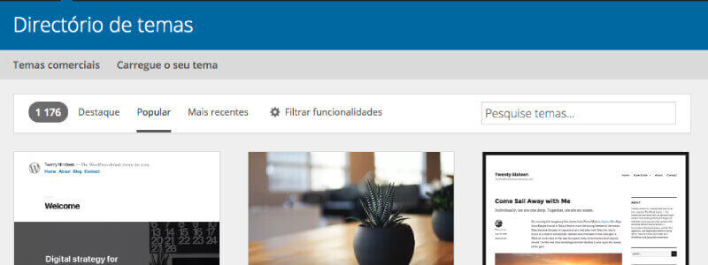 6. Utilizar um tema wordpress optimizado