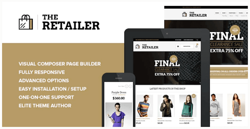 The Retailer - Tema Premium WooCommerce