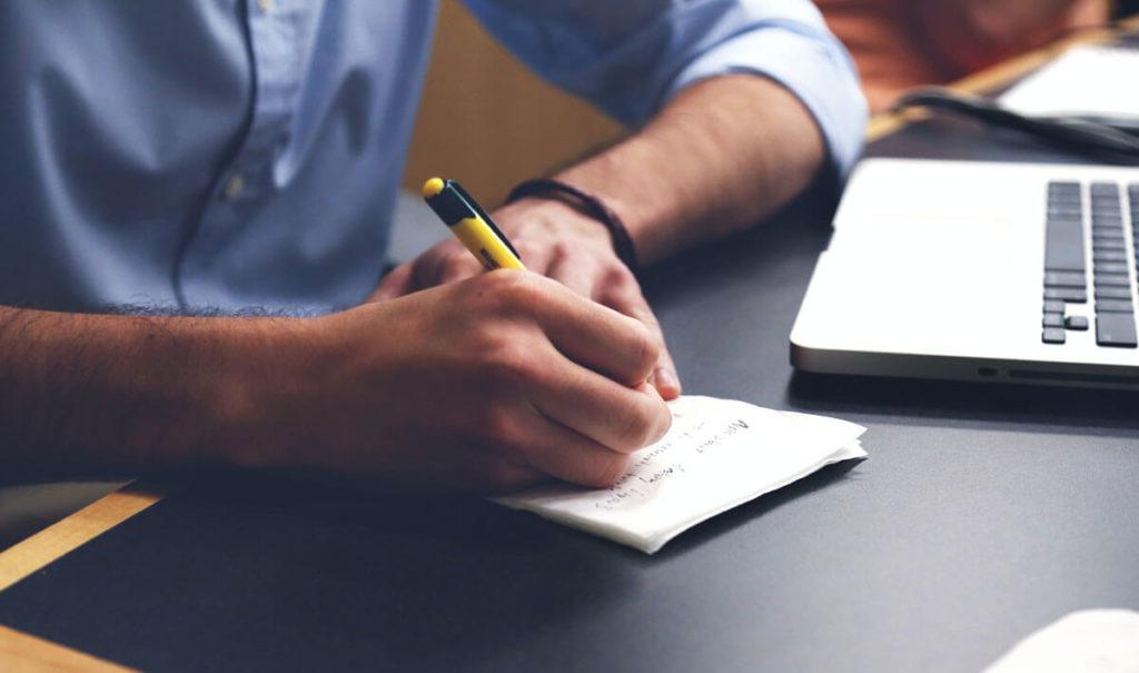 Fazer um Esboço do Artigo - Escrever artigos otimizados em SEO