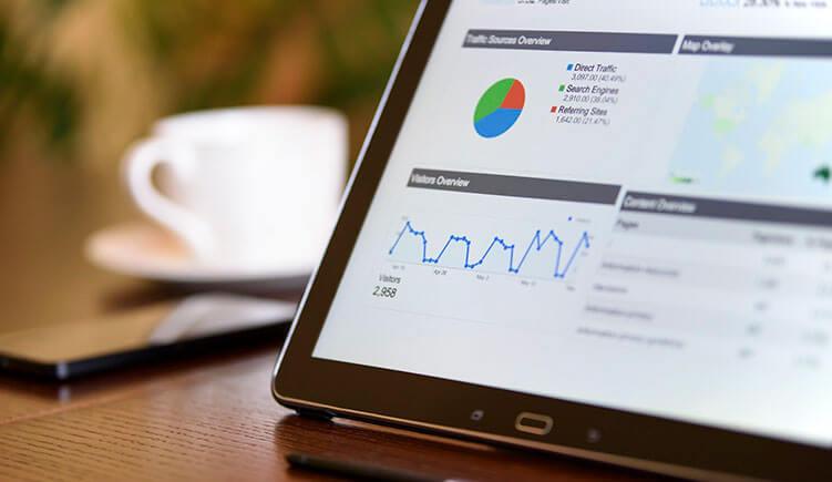 Recolha de Dados pelas Ferramentas de Analise como o Google Analytics.